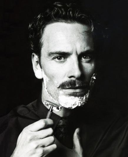 Michael Fassbender Moustache