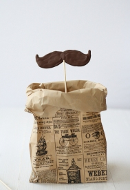 Moustache Chocolate