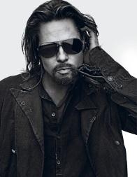 Brad Pitt, foto Steven Klein para Interview Magazine